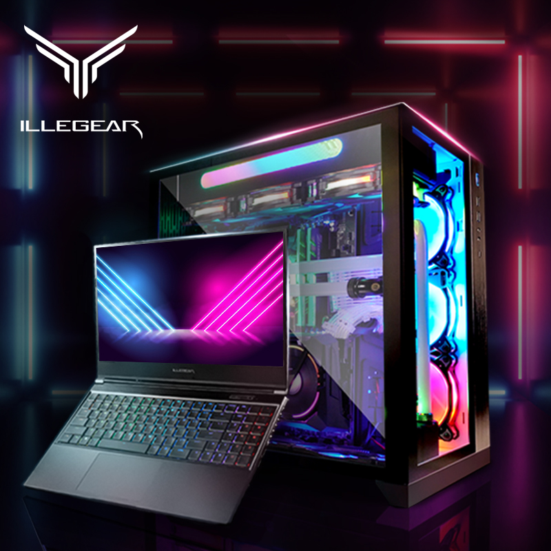 Get Illegear's high-performance laptop for gaming and productivity, with interest-free instalments