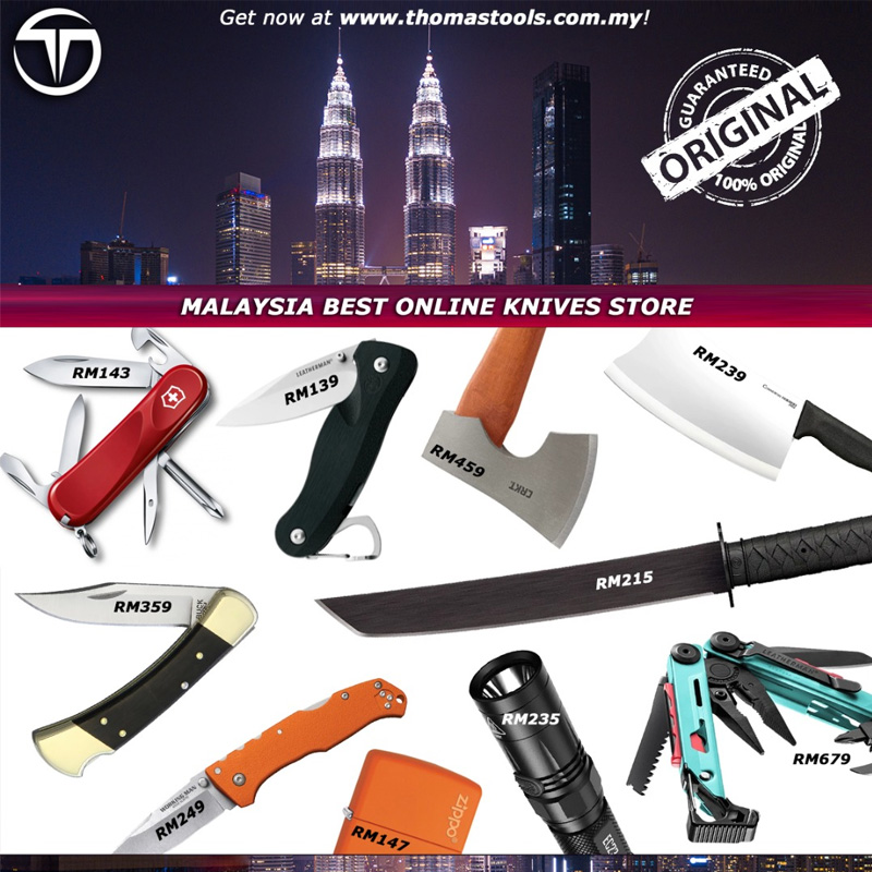 Thomas Tools, online retailer for tactical and survival equipment in Malaysia, partners with Split to offer debit card instalments for quality tools,
