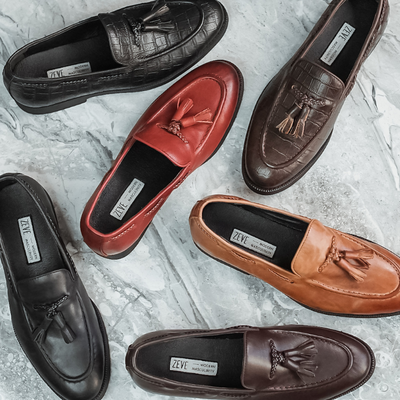 Artisan loafers for all occasions, Zeve offer a wide variety of shoes