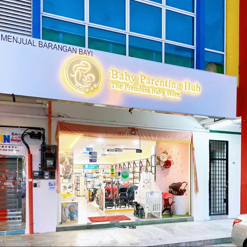 baby parenting hub storefront malaysia split instalments